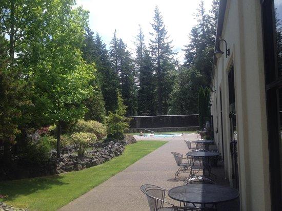 Bonneville Hot Springs Resort & Spa: Outdoor Garden Hot Springs Mineral Water Hot Tub