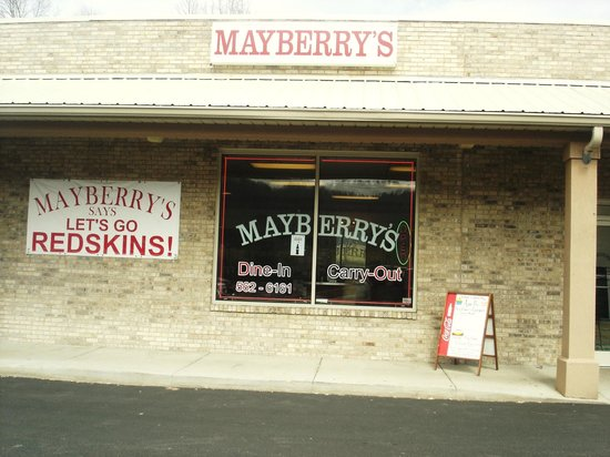 Aunt B's Bakery: Aunt B's is located inside Mayberry's of Hurricane