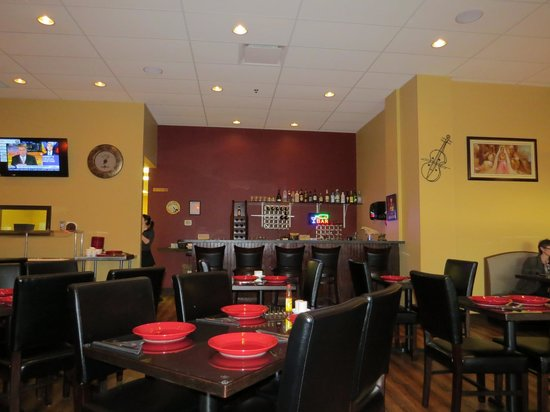 Interior picture of rabab indian restaurant mission
