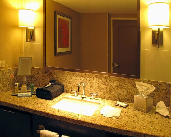 Hilton Omaha: Bathroom