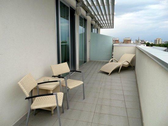 Aqua Hotel: Terrazzo