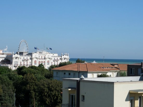 Aqua Hotel: Panorama dalla camera