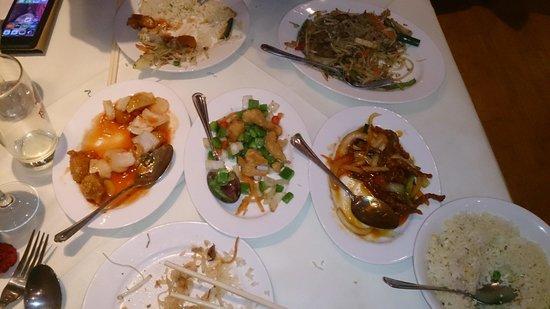 Aroma Oriental Restaurant: really tasty!