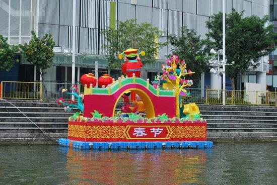 Marina Bay during annual festival
