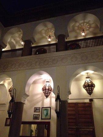 Palais Riad Calipau Marrakech: Inside Riad