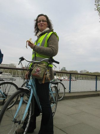 The London Bicycle Tour Company: banaantje = krachtvoer