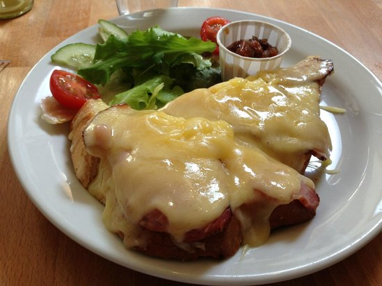 The Real Food Cafe and Restaurant: cheese & ham melt