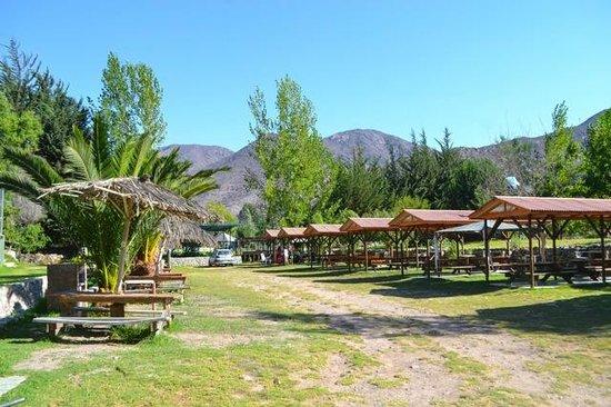 Hotel Cabañas Vertientes de Elqui: Zona Camping