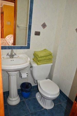 Hotel Cabañas Vertientes de Elqui: Baño privado