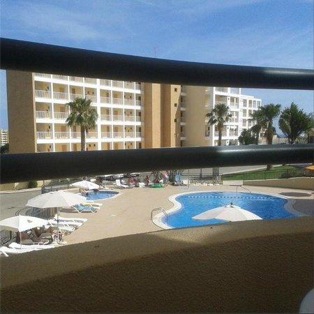 Plaza Real Atlantichotels: view from balcony