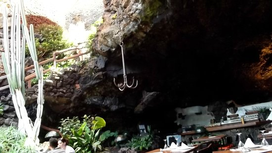 Jameos Del Agua: The roof of the restaurant