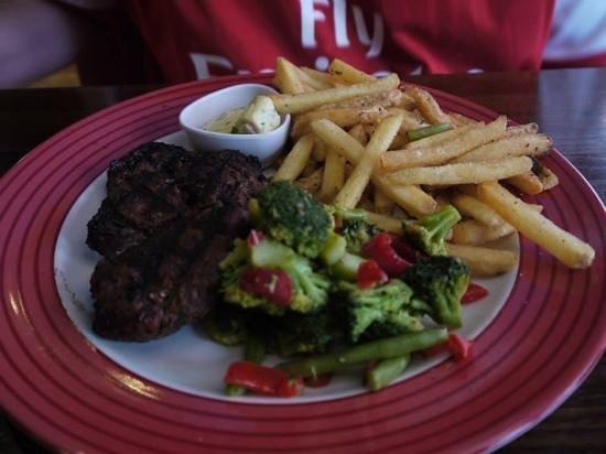 TGI Friday's - Covent Garden : Steak Dinne