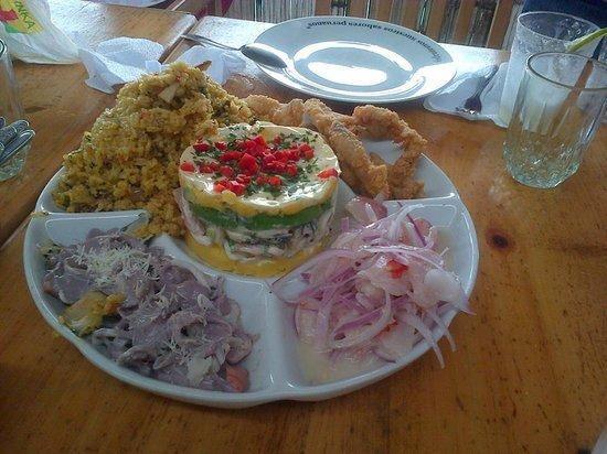 Barranca, Peru: Cada visita es un rico piqueo, este mayo no fue la excepción
