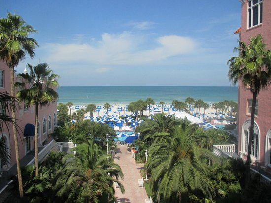 The Don CeSar: View from our room!