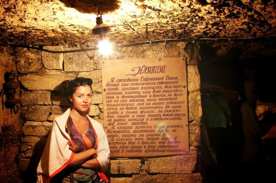 Catacombs of Odessa: катакомбы