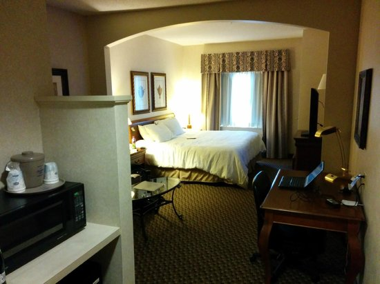 Hampton Inn Boston Bedford Burlington : Spacious room