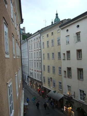 Radisson Blu Hotel Altstadt, Salzburg: View from Room 310
