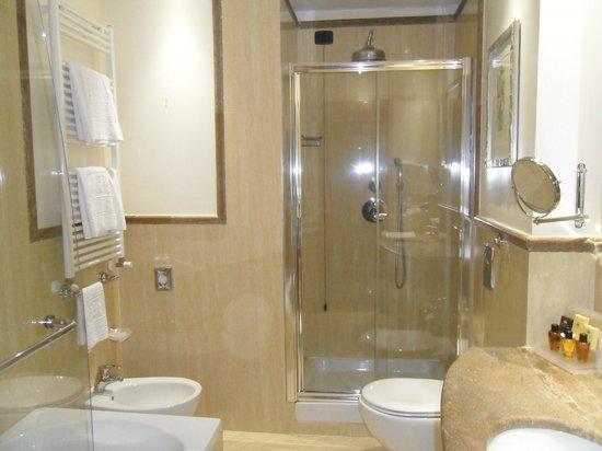 Windsor Hotel Milano: shower