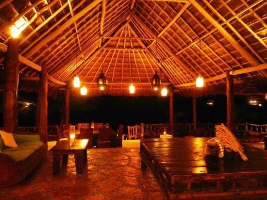 Las Ranitas Eco-boutique Hotel : Restaurant