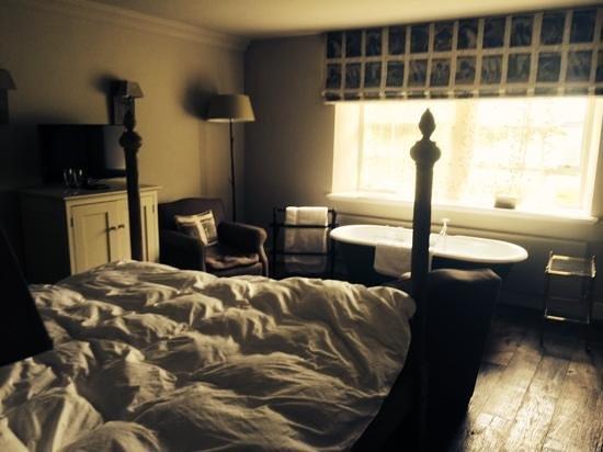 The Pig near Bath: our room