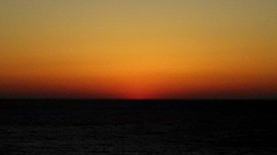Hyatt Regency Clearwater Beach Resort & Spa: sunset from our balcony