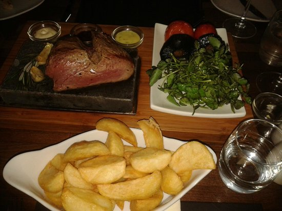 Stone Lounge: Chateaubriand.