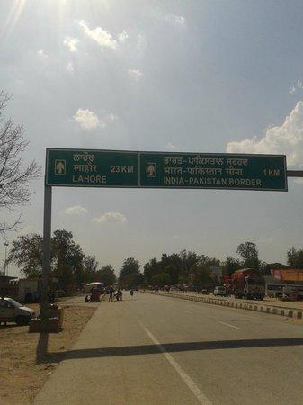 Wagah Border: Border Road