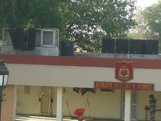 Wagah Border: BSF POST