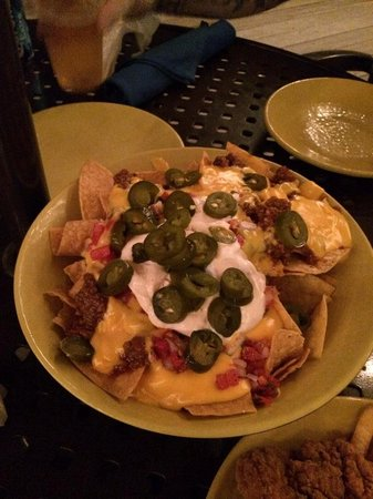 Wyndham Bonnet Creek Resort: Those nachos I was talking about!