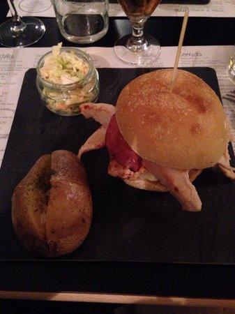 Copasetic Barcelona: Hamburger au poulet