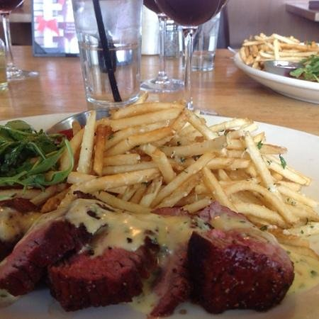 Salt Creek Grille : Our delicious steak & frites