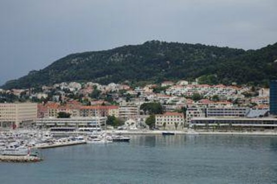 Old Split : view from top