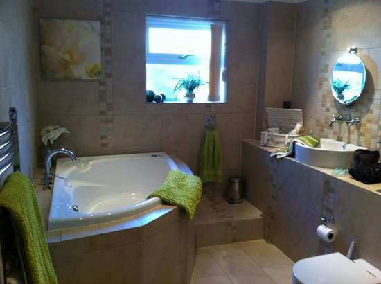 Trenear Bed And Breakfast: Our Bathroom   HUGE! With Walk In Shower And  Corner