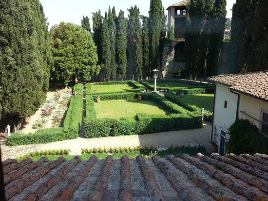 Hotel Villa Casagrande: Il giardino interno