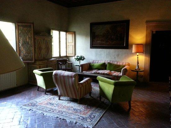 Hotel Villa Casagrande: Un salottino per chicchierare