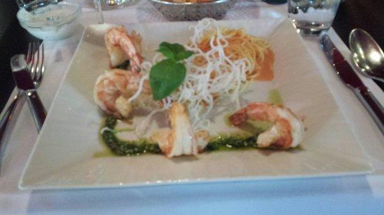 Die Fischkuche Restaurant Karin Brahm: Sublime.