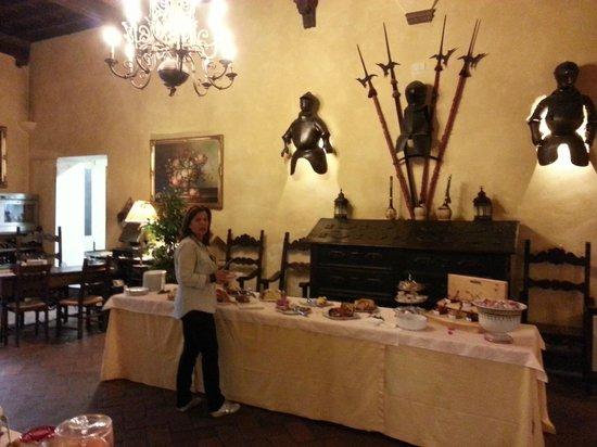 Hotel Villa Casagrande: Il buffet della colazione