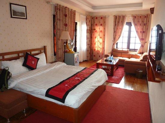 Sapa Eden Hotel: Bedroom