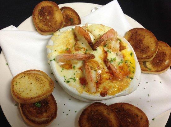 John & Nick's Prime Rib & Steakhouse: Havarti Shrimp Appetizer