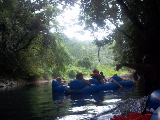 Butts Up Cave Tubing: One of the views