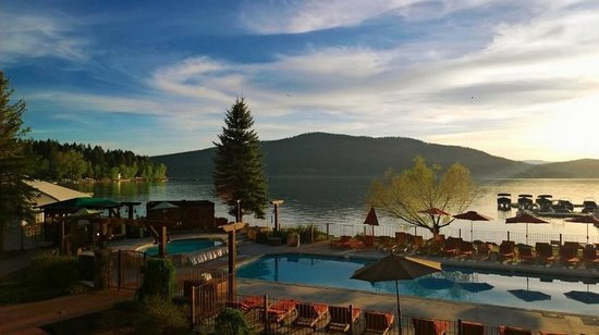 Lodge at Whitefish Lake: The view from the restaurant