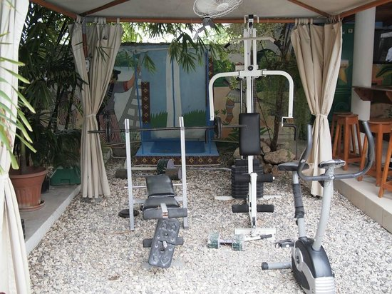 Palm Inn: Weight/Exercise area