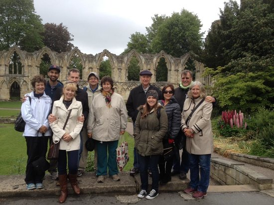 Footprints Tours York: Our Tour Group