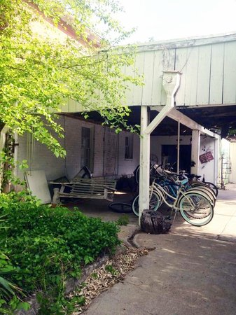 Sulphur Springs Inn: Bicycles to borrow