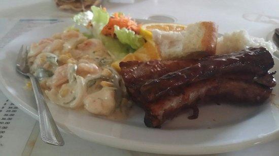 Restaurant Mauricio´s: LasLas mejores costillas bbq que he probado