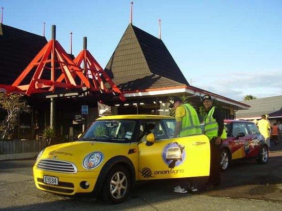 Orana Motor Inn: Front entrance