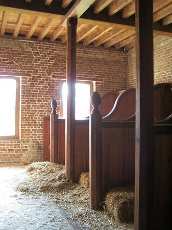North Carolina History Center - Tryon Palace: Horse stalls