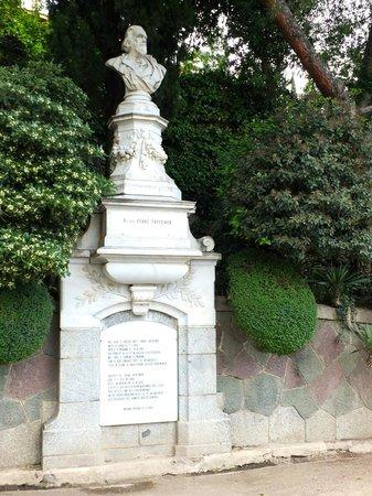 Tappeinerweg: Denkmal Dr. med Franz Tappeiner