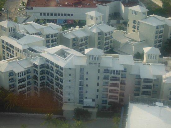 Occidental Costa Cancun : HOTEL VISTO DESDE LA TORRE