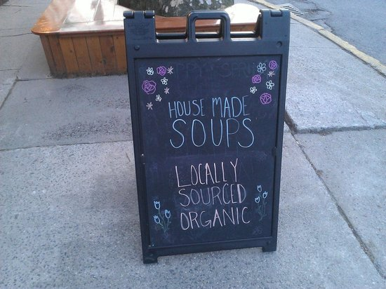 Joshua's : Try those soups - they are great!